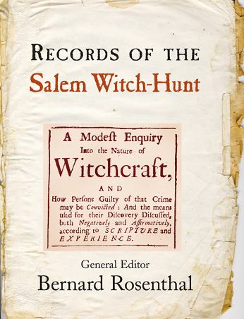 of the m witch hunt records of the m witch hunt